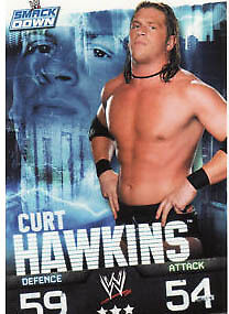 WWE Slam Attax Evolution - Curt Hawkins Smackdown Card • 0.99£