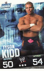 WWE Slam Attax Evolution - Tyson Kidd Smackdown Card • 0.99£