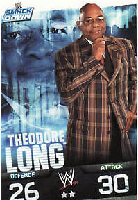 WWE Slam Attax Evolution - Theodore Long Smackdown Card • 0.99£