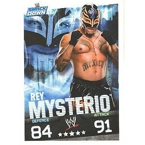 WWE Slam Attax Evolution - Rey Mysterio Smackdown Card • 0.99£