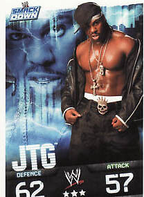 WWE Slam Attax Evolution - JTG Smackdown Card • 0.99£