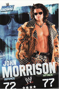 WWE Slam Attax Evolution - John Morrison Smackdown Card • 0.99£
