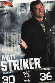 WWE Slam Attax Evolution - Matt Striker ECW Card • 0.99£