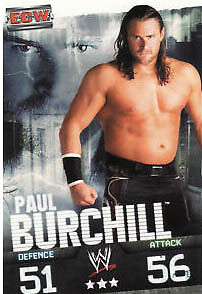 WWE Slam Attax Evolution - Paul Burchill ECW Card • 0.99£