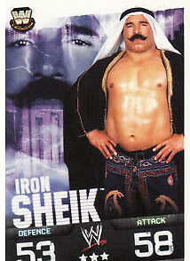 WWE Slam Attax Evolution - Iron Sheik Legend Card • 0.99£