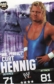 WWE Slam Attax Evolution - Curt Hennig Legend Card • 0.99£