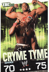WWE Slam Attax Evolution Cryme Tyme Tag Team Card • 0.99£