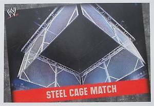 WWE Slam Attax Evolution Steel Cage Match Type Card • 0.99£