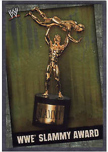 WWE Slam Attax Evolution WWE Slammy Award Title Card • 0.99£