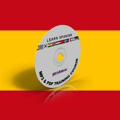 £7.99 • Buy Learn To Speak Spanish Language Fluently Course DVD, MP3 & PDF,language Of Spain