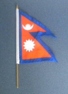 Nepal Country Hand Flag • 2.50£