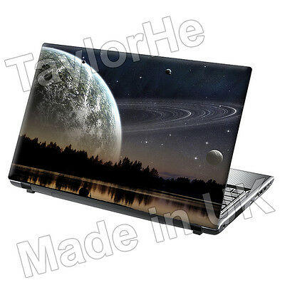 £7.95 • Buy 15.6  TaylorHe Laptop Skin Cover Sticker Decal Distant Planet Space Universe