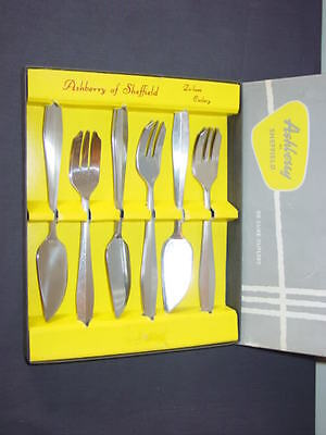 SPEAR & JACKSON Cutlery - MERTON Pattern - Fish Eaters 12 Piece Boxed Set • 24.99£
