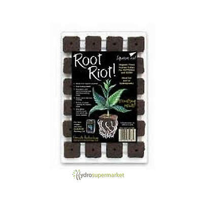 £9.95 • Buy Root Riot Propagation Cubes Tray Of 24 Cutting Seedlings