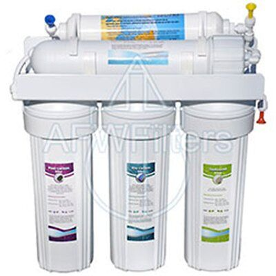 AFW Filters 6-Stage UV Zoi Gamma Pure Reverse Osmosis Drinking Water System • 210.77£