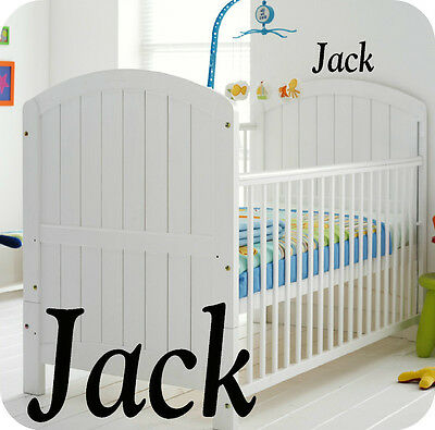 Baby Boys Personalised Nursery Room  Wall Sticker - Boy - Kids - Bedroom Or Cot  • 3.99£
