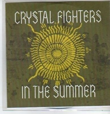 (BT271) Crystal Fighters, In The Summer - DJ CD • 2.99£
