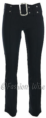 £10.99 • Buy Girls Skinny School Trousers Black Grey Navy Sizes 6 8 10 12 14 Ages 7 To 16