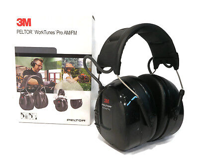 4fc846c7616 New PELTOR WORKTUNES PRO AM FM MP3 Radio HEADPHONES Hearing PROTECTION Ear  Muffs • 84.99$
