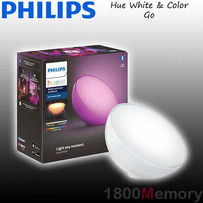 AU189 • Buy Philips Hue White & Color Ambiance Go LED Portable Lamp Rechargeable Battery