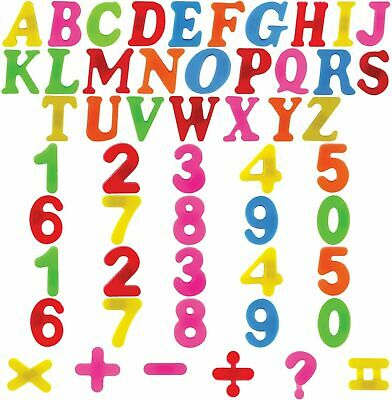 Magnetic Letters Numbers Alphabet Fridge Magnets Kids Child Learning Maths Toy • 2.75£