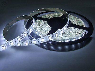 AU32.12 • Buy Aquarium Light WaterProof LED Tape Lighting Strip SMD 5050 300 LEDs 20/ft WHITE