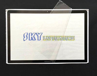 $15.95 • Buy 15  15.4  MacBook Pro Unibody LCD Screen Glass Cover A1286 For 2009 2010 2011