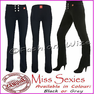 £5.99 • Buy Girls Black Grey Navy School Trousers Miss Sexies Miss Chief Size 4-16