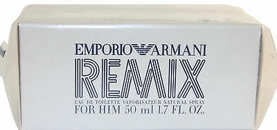 $34.99 • Buy Emporio Armani Remix Un Box For Him 1.7 Oz Edt Srpay New In With Out Box