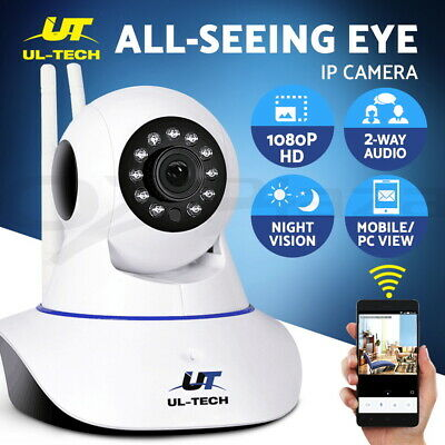 AU40.95 • Buy UL-tech Wireless IP Camera CCTV Security System Home Baby Pet Monitor 1080P HD