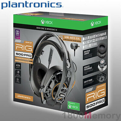 AU179 • Buy Plantronics RIG 500 Pro HX Gaming Headset Over Ear Wired 3.5mm For XBox One X S