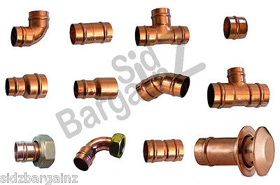 Solder Ring Yorkshire Copper Fittings VARIOUS SIZES 15 22 8 10 28mm  • 3.99£