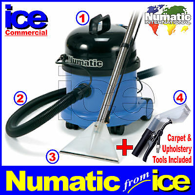 Commercial & Industrial Cleaning Carpet And Upholstery Vacuum Machine Cleaner • 329.99£