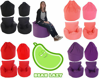 £22.90 • Buy BeanLazy Kids/Teens/Adult Sizes Bean Bag/Gaming Seat. 100% Cotton. With Filling.