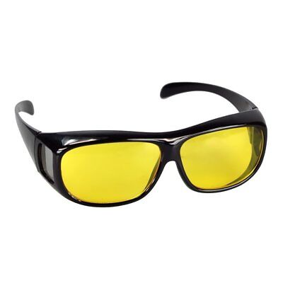 Night Driving Glasses Vision Anti Glare Drivers Polarized UV400 Fit Over • 8.99£