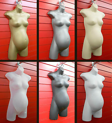 £15.99 • Buy Hanging Female PREGNANT Mannequin TORSO BODY HIGH QUALITY FORM DISPLAY BUST