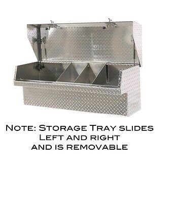 $409.97 • Buy Low Side Mount Truck Tool Box 48  Lo-Side Toolbox. Movable Parts Tray, HeavyDuty