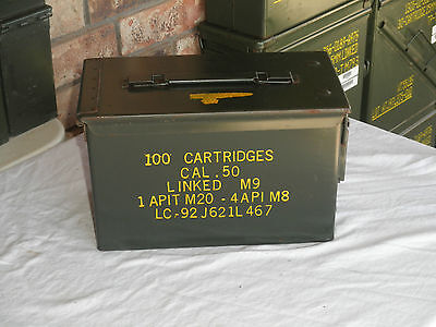 $28.50 • Buy  50 Cal Ammo Can Mil-Spec M2A1 Grade 1 Ammo Can, 1(One)  Best On Ebay!