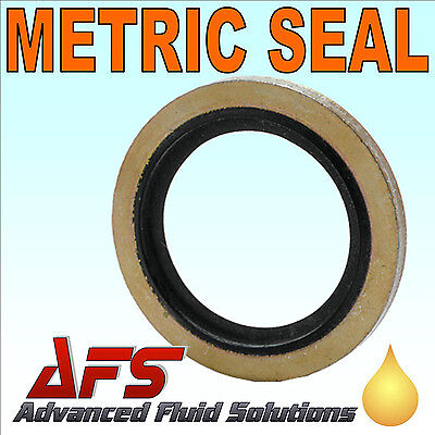 £1.18 • Buy GERMAN METRIC Bonded Dowty Seal Self Centering Sealing Washer Hydraulic Fuel AFS
