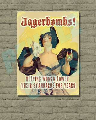 Various Vintage Retro Wall Signs & Wartime Advertisement Metal Wall Sign Plaque • 5.25£