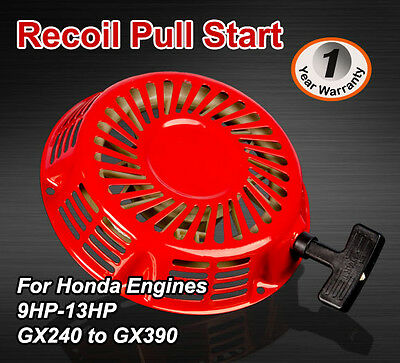 AU26.90 • Buy Recoil Pull Start  For Honda Stationary Engine GX240 GX390 9HP 11HP 13HP 16HP