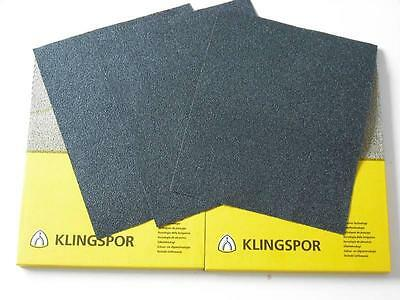 Wet And Dry Sandpaper 60 - 7000 Grit Klingspor Sand Paper Mixed You Choose  • 4.93£