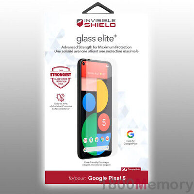 AU49.50 • Buy ZAGG InvisibleShield Glass Elite+ Screen Protector For Google Pixel 5 - 6.0