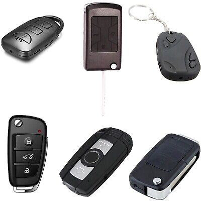 View Details Hidden Spy Camera Car Key Fob Remote Full HD 1080p H.264 Audio & Video Recorder • 34.99£