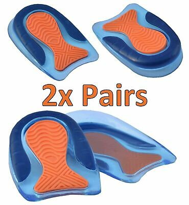 Womens Gel Insoles For Shoes Ladies Comfort Plantar Fasciitis Arch Support Heel • 6.89£