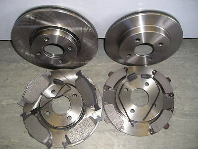 £79.95 • Buy Ford Cougar 2.5 V6 Front And Rear Brake Discs And Pads + Sensors 1998 - 2002