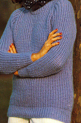 Ladies Knitting Patterns Sweaters, Cardigans Jackets Dresses V041 • 2.59£