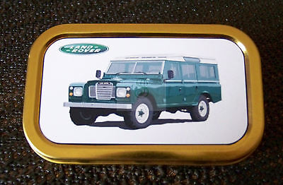 Land Rover -b- 1 & 2oz Tobacco/Storage Tins • 3.25£