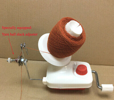 Hand Operated Standard Size Wool Winder For Knitting Wool Yarn String Skein Ball • 26.75£