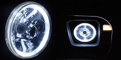 AU189.95 • Buy White Halo H4 Headlights Angel Eye Ford F100 F250 F350 Maverick Mercury Fairlane